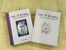 """LINE of BEAUTY the ART of WENDY PINI"" HC by R Pini - Lim ed, case! SIGNED x2"