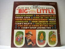 BIG TINY LITTLE Play Me a Country Song CRL 757481 LP Stereo