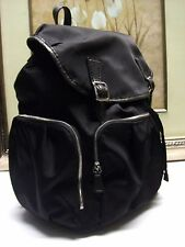 Authentic Mz Wallace CECE Black Moto Backpack Bag $385