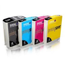 4 Ink Cartridges for HP 940XL Officejet Pro 8000 8000W 8500 8500W A809a Non-OEM