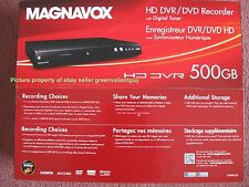 New Magnavox 500GB MDR865H/F7 HD 1080P HDD DVR DVD Recorder with Digital Tuner