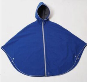BN OTTO LONDON BLUE CYCLING BIKE URBAN PONCHO size S
