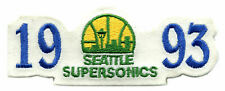"1993 Vom Seattle Supersonics NBA Basketball 4.5 "" Team Logo Abzeichen"