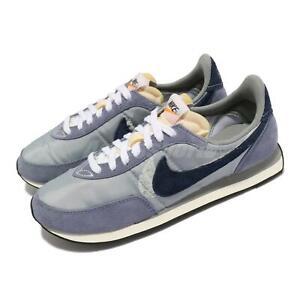 Nike Waffle Trainer 2 SE Light Smoke Grey Navy Men Casual Lifestyle DM9090-041