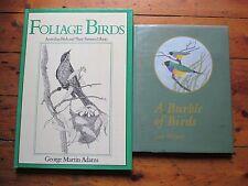 FOLIAGE BIRDS Australian Birds Their Favoured Plants & A BURBLE OF BIRDS B485