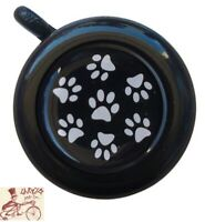 CRUISER CANDY DOG PAW BLACK BICYCLE BELL