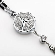CAR diamond logo Perfume Air Freshener Rearview Mirror Perfume Pendant For Benz