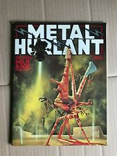 METAL HURLANT #11 1976 French Magazine HEAVY METAL Moebius Bilal