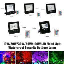 10W/20W/30W/50W/100W LED Flood Light Outdoor Yard Lamp Waterproof Motion Sensor