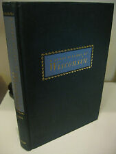 A Short History Of Wisconsin by Larry Gara 1962 Near Fine Illustrated
