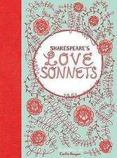 Shakespeare's Love Sonnets by Caitlin Keegan (Hardback, 2011)