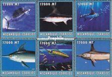 Mosambik 2626-2631 postfris MNH 2002 Wereld van Marine