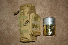 MOLLE KHAKI CARRY POUCH FITS SVEA 123 STOVE HUNTING FISHING SURVIVAL  CAMPING