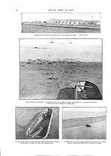 WWI Canal de Suez Toussoun Canot Aluminiun Turkey Soldiers  AFRIQUE ILLUSTRATION