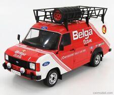 IXO 1/18 FORD TRANSIT MK2 BELGA TEAM/JC MOTORSPORT RALLY ASSISTANCE/SUPPORT 1979