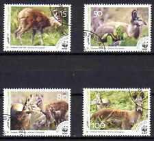Animaux Faune sauvage Afghanistan (75) série complète 4 timbres oblitérés