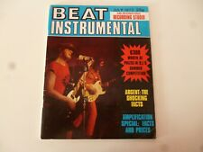 BEAT INSTRUMENTAL JULY 1972 ARGENT, SLADE, NEW SEEKERS, AMPLIFIERS *AS PICTURES*