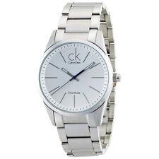 Calvin Klein K2241120 Men's CK Bold Silver Dial Steel Bracelet Watch