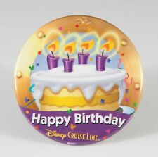 Disney Cruise Line Happy Birthday Button Pin DCL