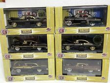 Chase M2 Machines Lot Of 6 Chase Cars Auto Thentics Dodge/Chevy/ Ford /Mercury