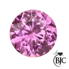 Loose AAA+ Quality Cubic Zirconia CZ Round Pink Brilliant Cut Gemstones