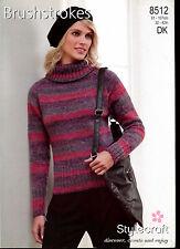 Stylecraft Knitting Pattern #8943 Double Knit Ladies Cardigan #17594