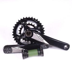 FSA V-Drive Hollow MegaExo MTB Crankset 22/36T 175mm Black