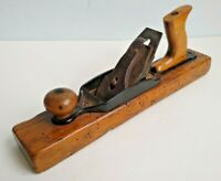 "Vintage Wooden 15"" Woodworking Block Plane Carpenters Tool Decorative"