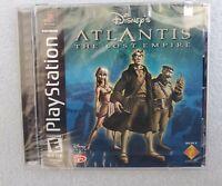 Disney's Atlantis: The Lost Empire (Sony PlayStation 1, 2001) New Sealed
