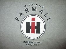 MCCORMICK FARMALL INTERNATIONAL HARVESTER T SHIRT Tractors Farm Machinery LARGE
