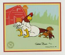 Foghorn Leghorn & Henry Chicken Hawk CHUCK JONES Limited Edition Signed Cel Art