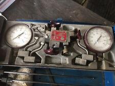 Vintage Diesel Engine Testing Kit Garage