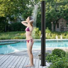 HOMELUX Solardusche 35L 2-teilig Garten Pool Camping mit Fußdusche SCHWARZ