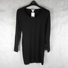 New! Stunning! H&M Black Bodycon Dress Size S Casual Stylish Fashion Clothing