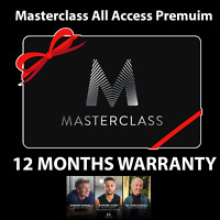✔️MasterClass Pro (Account- 3 Years) (INSTANT DELIVERY) PREMIUM SUBSCRIPTION- ✔️