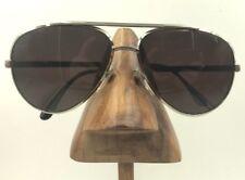 Vintage Cottet 743 Silver Metal Aviator Pilot Eyeglasses Sunglasses USA