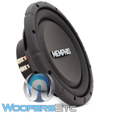 "MEMPHIS SRXS1040 10"" 500W SINGLE 4-OHM SHALLOW THIN SUBWOOFER BASS SPEAKER NEW"