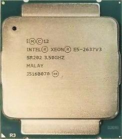 Intel Xeon E5-2637 V3 (SR202) 3.50GHz 4-Core LGA2011-3 CPU