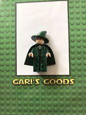 Lego Harry Potter Professor Mcgonagall Minifigure GENUINE GREAT !!!