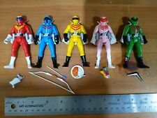 Himitsu Sentai GoRanger Go Power Rangers Action Figures Complete Loose Banpresto