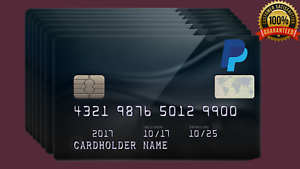 vcc Virtual Credit Card for Paypal Verification till 07/26 for 5 years worldwide