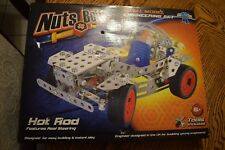 Nuts And Bolts Metal Hot Rod Model Engineering Set 6 Up Toy Activity Project