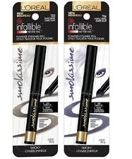 (2) Loreal Infallible Smokissime Never Fail Powder Eyeliner Pen, Lot of 2!