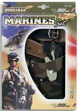 Edison Giocattoli Pistolet Revolver 13 coups Marines Jouet Child gun Firecracker