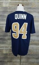 Robert Quinn #94 Los Angeles LA Rams STL Nike NFL Blue Jersey Shirt Adult XL