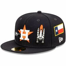 Houston Astros New Era Icon 59FIFTY Fitted Hat - Navy