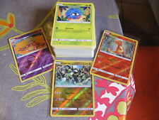Lot 100 Cartes Pokemon Françaises 100% Pas de double NEUF + 2 Brillantes + Rare