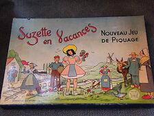Nouveau Jeu de Piquage Suzette en Vacances JL Paris