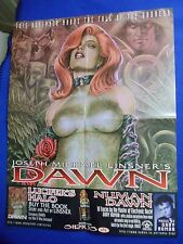 ~~ HARD TO FIND! ~ LINSNER ~ DAWN THE FALL OF THE GODDESS PROMO POSTER ~ 2001 ~~