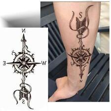 ► TATOUAGE TEMPORAIRE BOUSSOLE (Tattoo éphémère / Provisoire / Décalcomanie)◄